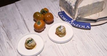 _3 Sformatino con gorgonzola e melanza rossa di Rotonda